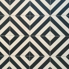 Black and White tile by Vives Ceramica. 10 Tile Trends from Cevisama 2016 with Tile of Spain and Inspired to Style/Arianne Bellizaire