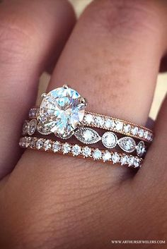Top Pinned Engagement Ring on Pinterest.  The Twin Cities engagement ring destination is Arthur's Jewelers.