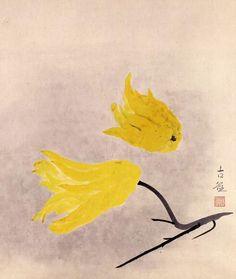 Kobayashi Kokei 小林古径 (1883-1957), 仏手柑, 1939.