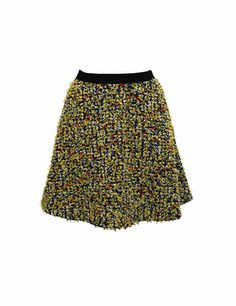 Coohem skirt. Yonetomi Tweed fabric.  Composition: 68% cotton, 23% nylon, 5% polyester, 4% scrylic.  Lining: 100% polyester.  Made in Japan.