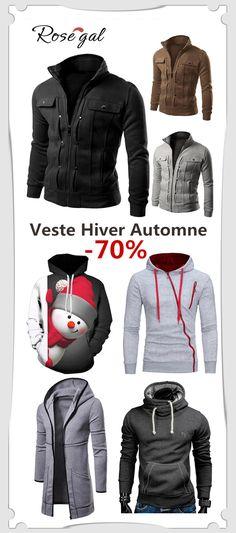 Remise Les mode noël Homme Vestes homme Pour 60 La rosegal anwv8dnq f20c8e721d6