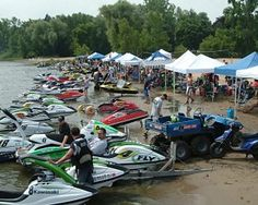 In its 13th year, the Harbor Beach Maritime Festival is home to one of the world's largest personal watercraft events in the world's greates...