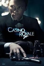 Casino Royale, starring Daniel Craig as James Bond, Eva Green, Dame Judi Dench and Jeffrey Wright. Directed by Martin Campbell Film Casino, Casino Royale Movie, James Bond Casino Royale, Casino Games, Tulalip Casino, Play Casino, Best James Bond Movies, James Bond Movie Posters, Love Movie