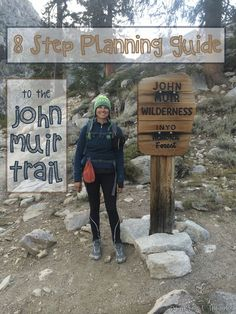 8 Step John Muir Trail Planning Guide - Follow these steps to get organized and simplify your planning for your next big backpacking adventure, whether it's on the JMT or elsewhere #jmt #johnmuirtrail #backpacking