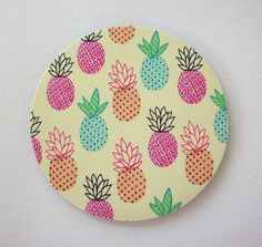 Mouse Pad mousepad / Mat  Rectangle or round  pink blue by Laa766  chic / cute / preppy / computer, desk accessories / cubical, office, home decor / co-worker, student gift / patterned design / match with coasters, wrist rests