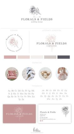 I like the dusty pink colour Site Web Design, Font Design, Brand Identity Design, Branding Design, Photography Packaging, Logos Photography, Wordpress Theme Design, Branding Kit, Corporate Branding