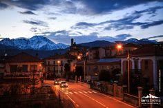Tramonto a Borgosesia (VC)