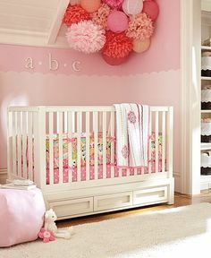 Find baby girl nursery ideas and more at Pottery Barn Kids. Prepare for your baby girl and shop our baby girl room inspiration. Nursery Room, Girl Nursery, Girl Room, Girls Bedroom, Nursery Decor, Nursery Ideas, Room Ideas, Room Decor, Pottery Barn Kids