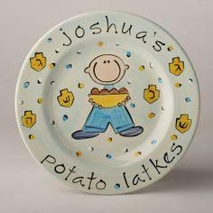 Personalized Potato Latke Plate by Suzaluna | Hatch.co