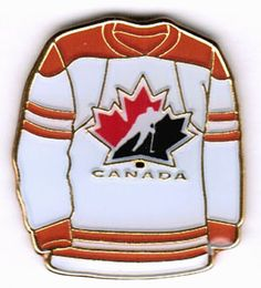 Official Team Canada - Hockey ♦ Canada Away Jersey Pin All About Canada, Canada Hockey, Canada Eh, True North, Sport, Amazing Places, Roots, My Photos, Strong