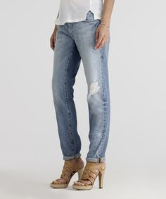 Look at this paperdenim&cloth Ripper Eze Skinny Slouch Jeans - Women on #zulily today!