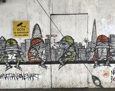 #streetart #londonbridge #London #Londres #londonist #londoner #londonlife #londoncity #londoncalling
