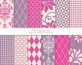 purple/pinks