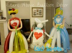 alice in wonderland balloons | What is your favorite thing to make with balloons?
