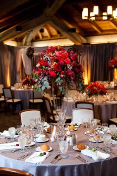 November Wedding with a Fall Color Palette  http://brds.vu/z5Cunf