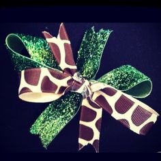 Love Love Love  Next Cheer Bow? :)