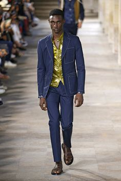 Hermès (masculino) primavera-verão 2018