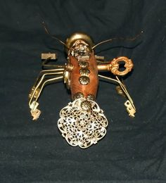 Clockwork Steampunk prawn assassin