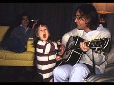 John and Sean Lennon - With A Little Help From My Friends