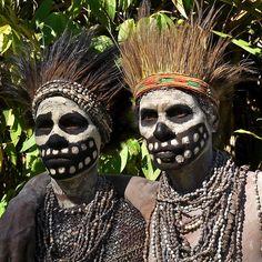 Skeleton women - Chimbu tribe | Flickr - Photo Sharing!