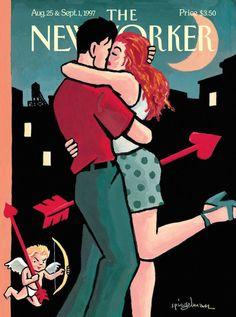15 copertine di innamorati sul New Yorker - Il Post