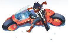 Anime Crossover  Ryūko Matoi Kill La Kill Akira Wallpaper