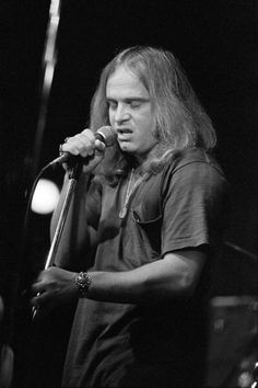 Ronnie Van Zant ~Lynyrd Skynyrd in Concert at Richard's Rock Club in Atlanta - October ...