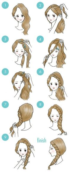 20 cute hairstyles that are extremely easy to do - hairstyles 20 süße Frisuren, die extrem einfach zu tun sind – Frisuren Modelle 20 cute hairstyles that are extremely easy to do - Cute Quick Hairstyles, Trendy Hairstyles, Simple Elegant Hairstyles, Everyday Hairstyles, Easy Morning Hairstyles, Simple Hairstyles For Medium Hair, Easy Braided Hairstyles, Sweet Hairstyles, School Hairstyles