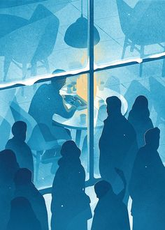 Las ilustraciones conceptuales de Karolis Strautniekas | Blog de diseño gráfico y creatividad.