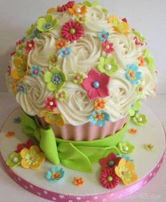 Gorgeous big cup cake
