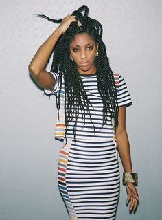 "'The Daily Show""s Jessica Williams makes Paper's 'Beautiful People' List for 2014. Photographed by Harper Smith."