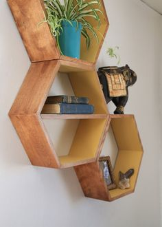 Mid Century Modern Furniture Large Geometric by HaaseHandcraft