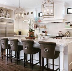 Love The Dramatic Chairs. Home Bunch Interior Design Ideas