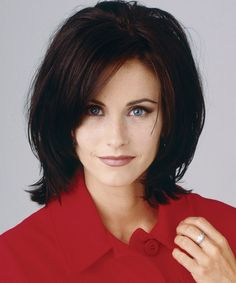 Courtney Cox - January 1, 1990  For her role as Monica on Friends, Courteney slimmed down, trimmed her brows and styled a sleek, layered hair 'do.