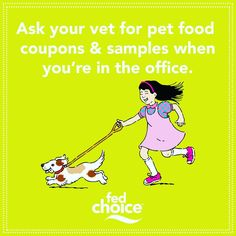 - #MoneyTip Ask your veterinarian for pet food & medication coupons and samples when you're in the office.  .  .  .  .  .  .  #FedChoice #Money #Help #CreditUnion #Fun #Finance #Accounting #Emergency #Savings #Members #Stocks #Awesome #SocialGood #CDs #Checking #Favorite #Debt #Millennial #MoneyMindset #MillennialMoney #Instagram #PetsofIG #Dog #Cat #CatDog #Veterinarian #DoggyDayCare #AnimalLove