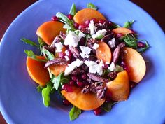 When was the last time you had a salad? Put down the eggnog and cookies and crunch on some of winter's healthy local bounty. Stephanie Rosenbaum offers up two inventive winter salads to brighten your holiday table. Holiday Foods, Holiday Recipes, Goat Cheese Salad, Winter Salad, Incredible Edibles, Salad Ideas, Holiday Tables, Clean Recipes, Bay Area