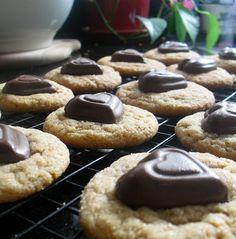 Peanut Butter Valentines Cookies