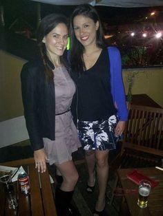 Fernanda Souza veste Vestido New York Paula Juliana veste : Saia Lilie e Regata Praga