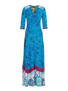 Sayen Maxi Dress Cobalt
