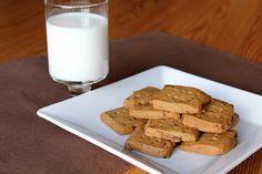 Pastry Affair | Espresso Chocolate Chip Shortbread Cookies