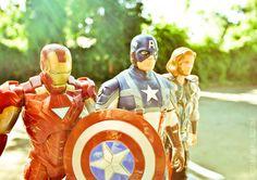 Avengers: Old School by ~PrometheanPenguin on deviantART