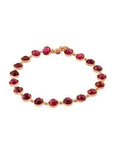 18kt gold & tourmaline bracelet Irene Neuwirth YEl4WT