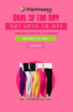 UPRASN PACK OF 5 LEGGINGS