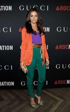 God, she looks good! WERK. Head to toe Gucci.