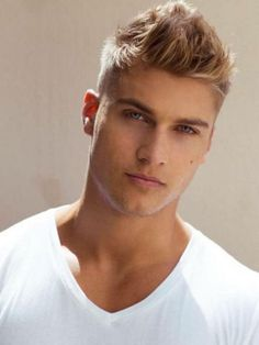 Mens Natural Blonde Hair