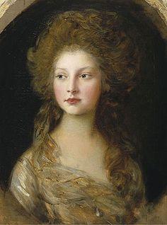 Princess Elizabeth,1782   Gainsborough   The Royal Collection London United Kingdom