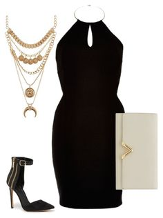 Untitled #35 by coconut-r on Polyvore featuring polyvore fashion style River Island Bebe Reiss Charlotte Russe clothing