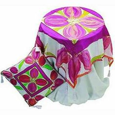 Tulip Silk Cushion And Table Cover | Craft Ideas & Inspirational Projects | Hobbycraft