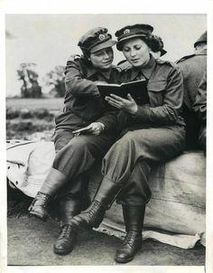 WW2 ATS in Battle Dress ~
