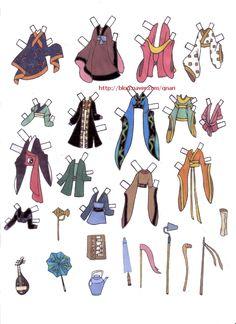 Dresses for Disney's Mulan paper dolls, Portuguese (3 of 9) | Naver Blog | 여장을한 무슈라니.. 생각만으로도 넘귀엽겠죠? ㅎㅎ